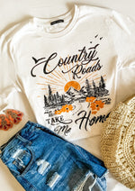 Ivory Country Roads Graphic Tee
