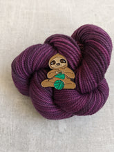 Load image into Gallery viewer, Process Knitter Sloth pin
