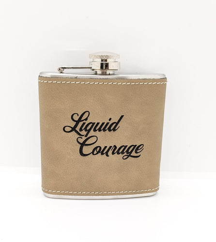 Liquid Courage flask