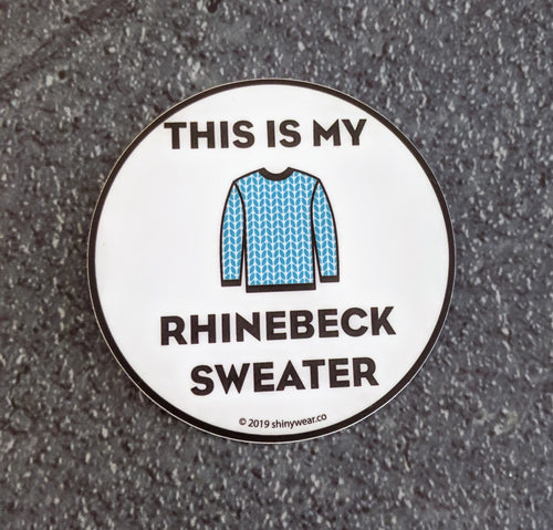 Rhinebeck sticker