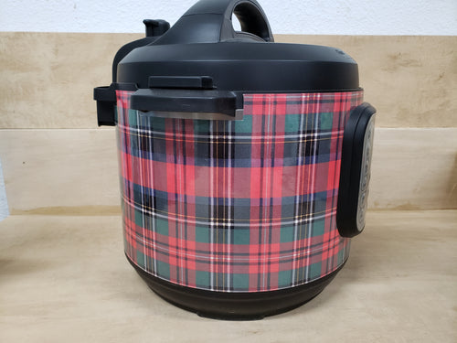 Christmas Plaid Pressure Cooker Wrap