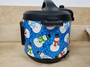Happy Snowman Pressure Cooker Wrap