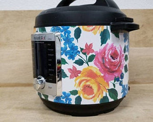 Bright Floral Pressure Cooker Wrap