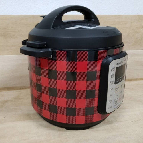 Buffalo Red and Black Check, Pressure Cooker Wrap