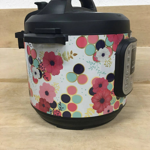 Pink Flowers Pressure Cooker Wrap