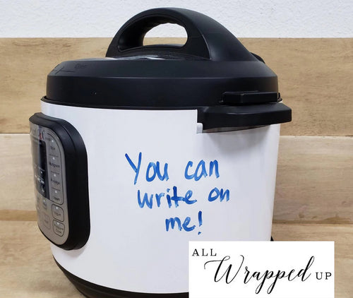 Write On Me, Pressure Cooker Wrap