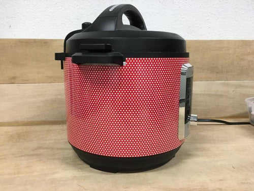 Red and White Small Polka Dots, Pressure Cooker Wrap