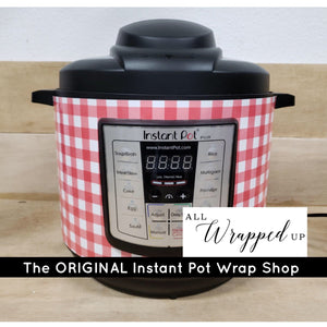 Red Check, Pressure Cooker Wrap