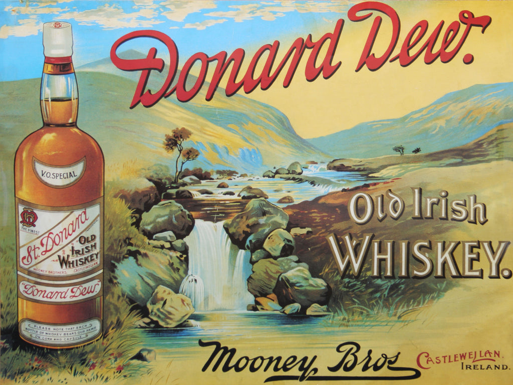 Donard Dew Old Irish Whiskey by Mooney Bros, Castlewellan, Ireland