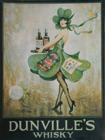 Dunville's Whisky Poster