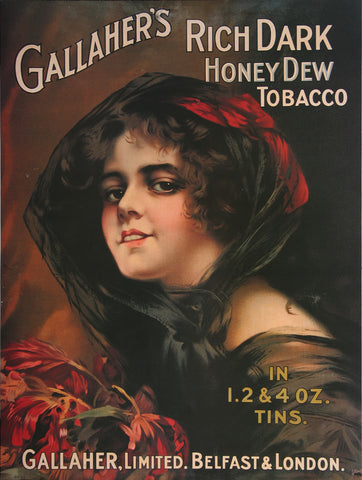 Gallaher Honey Dew Cigarette Poster