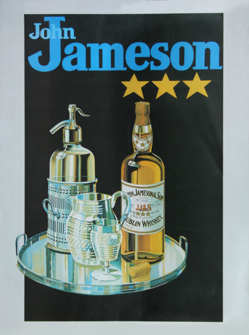 Jameson Whiskey Poster