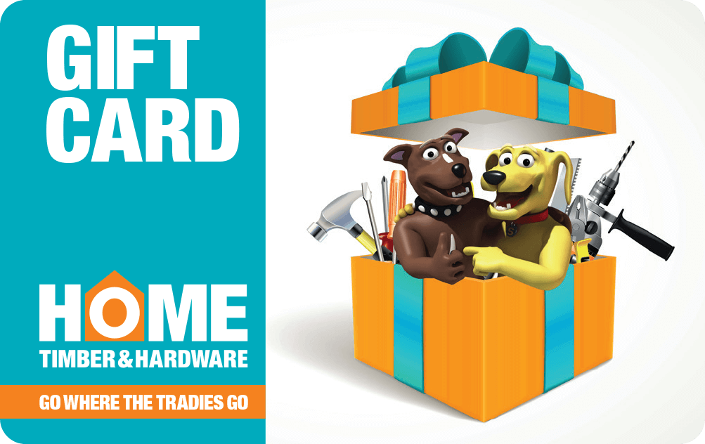 Home Timber & Hardware Gift Card - Victorian Seniors Card and Seniors Business Discount Card holders