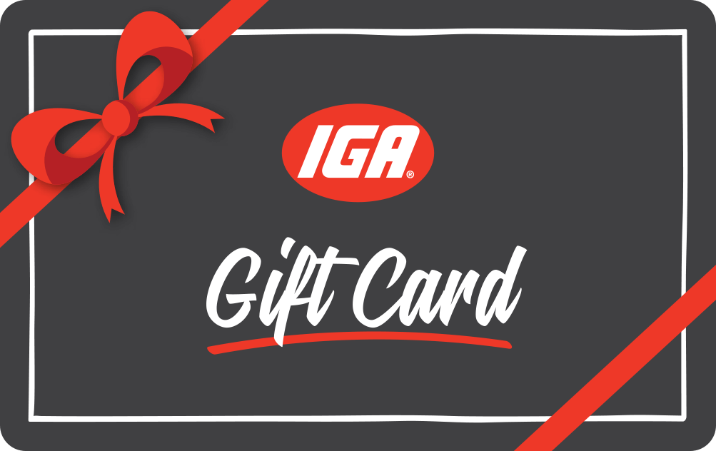 IGA Supermarkets Gift Card - Victorian Seniors Card and Seniors Business Discount Card holders