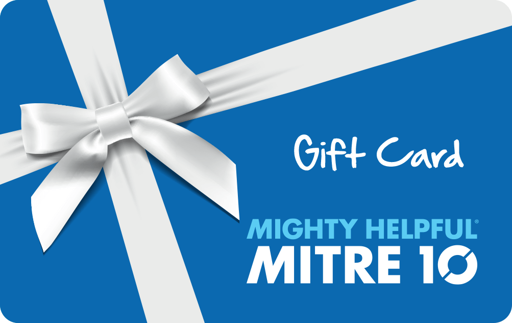 Mitre 10 Gift Card - Victorian Seniors Card and Seniors Business Discount Card holders