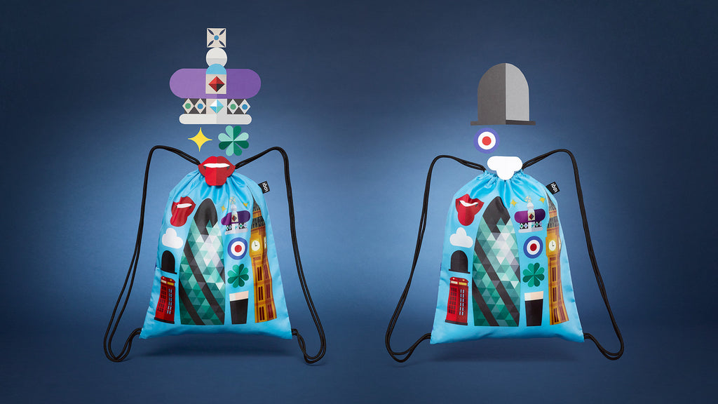 LOQI | HEY STUDIO | City Bags. Backpacks. Suitcase Covers.