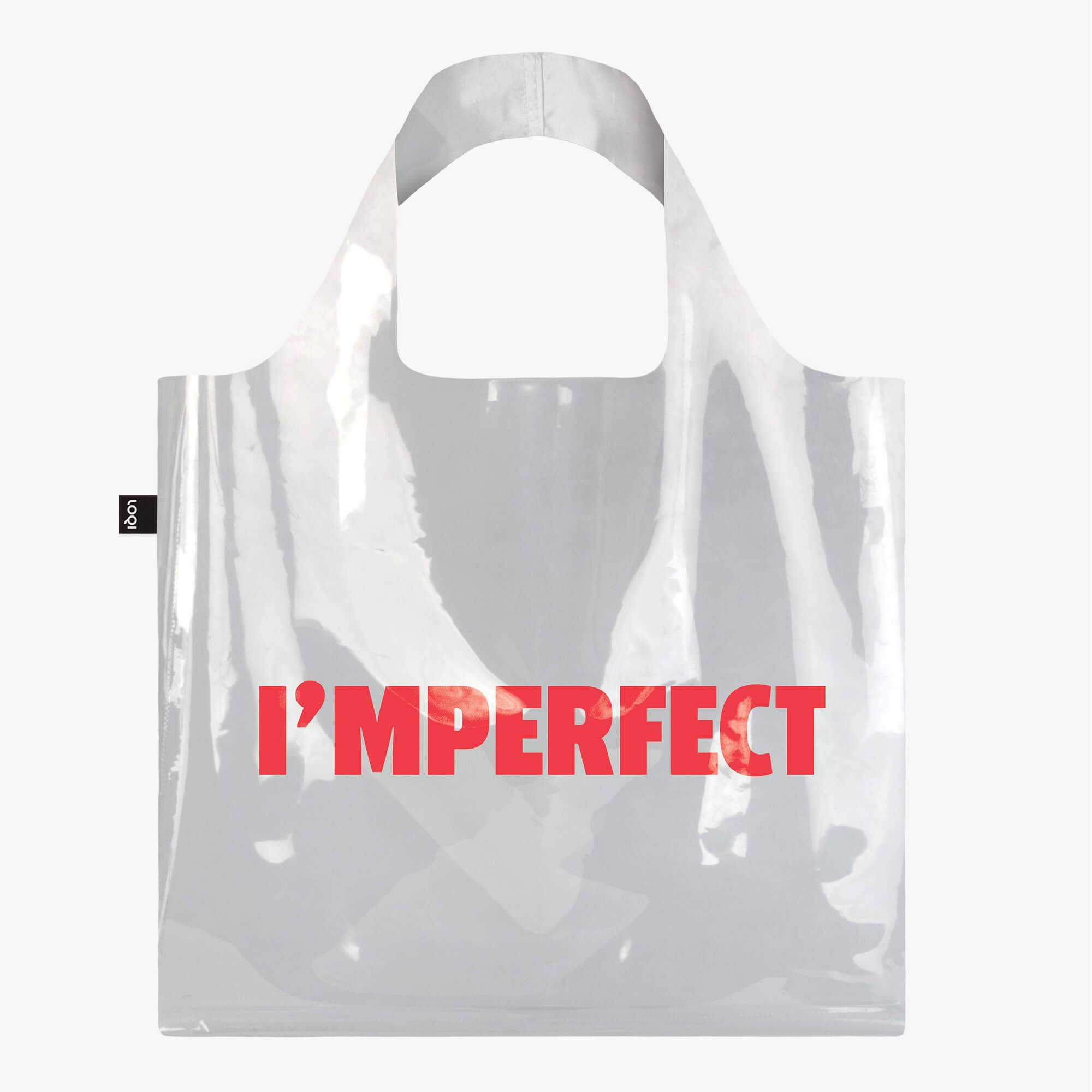 LOQI Transparent I'mperfect Bag