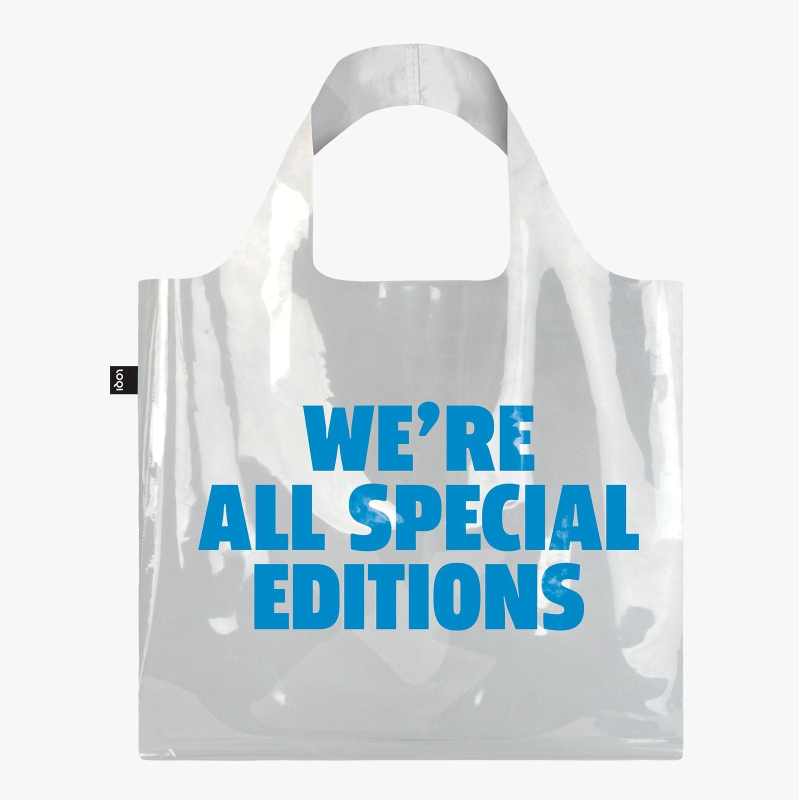 LOQI Transparent We're all Special Editions Bag
