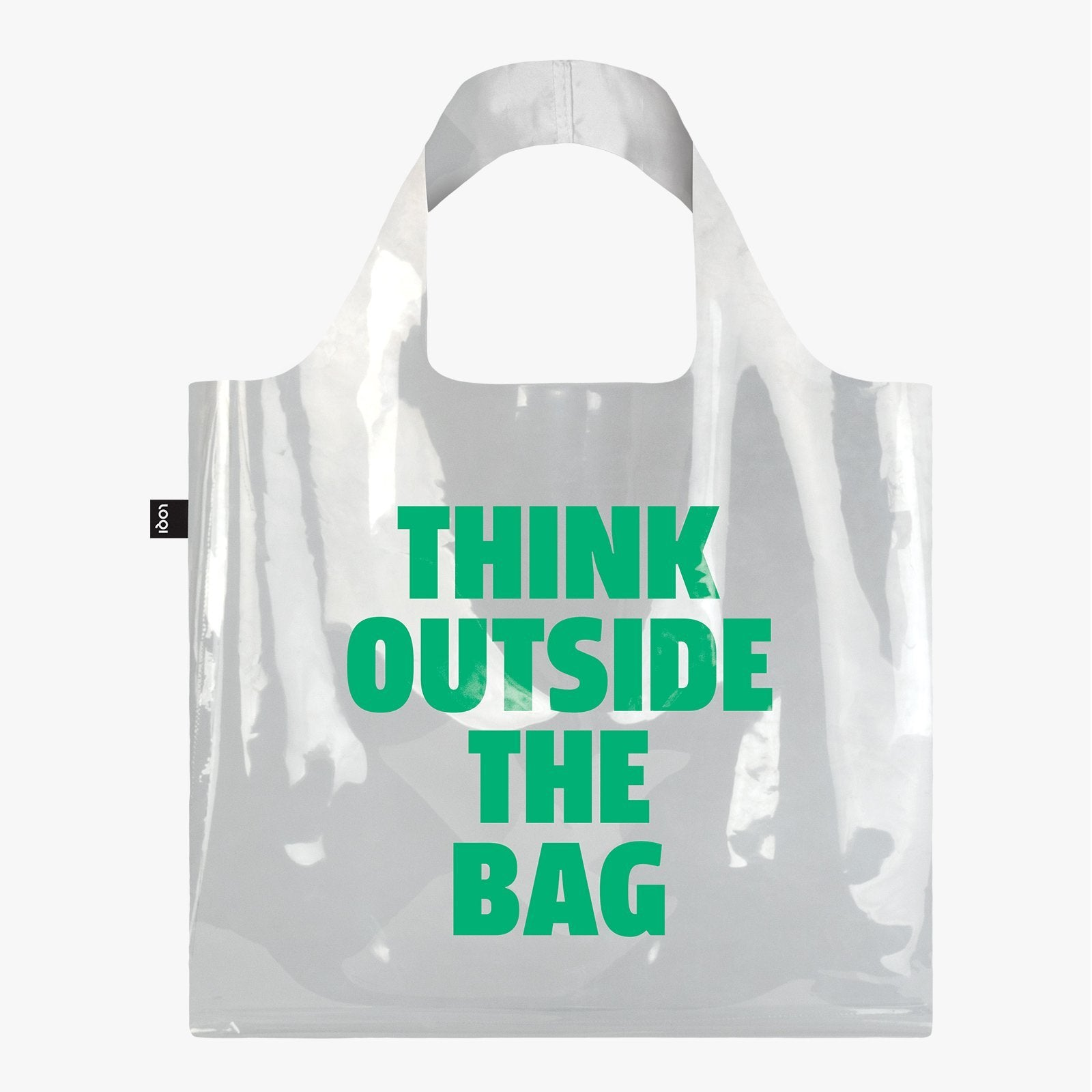 LOQI Transparent Think Outside the Bag Bag