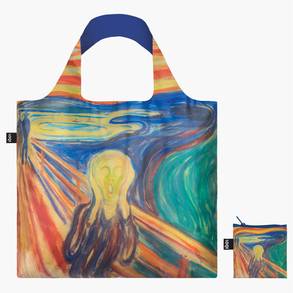 LOQI Edvard Munch The Scream, 1910 Bag with zip pocket