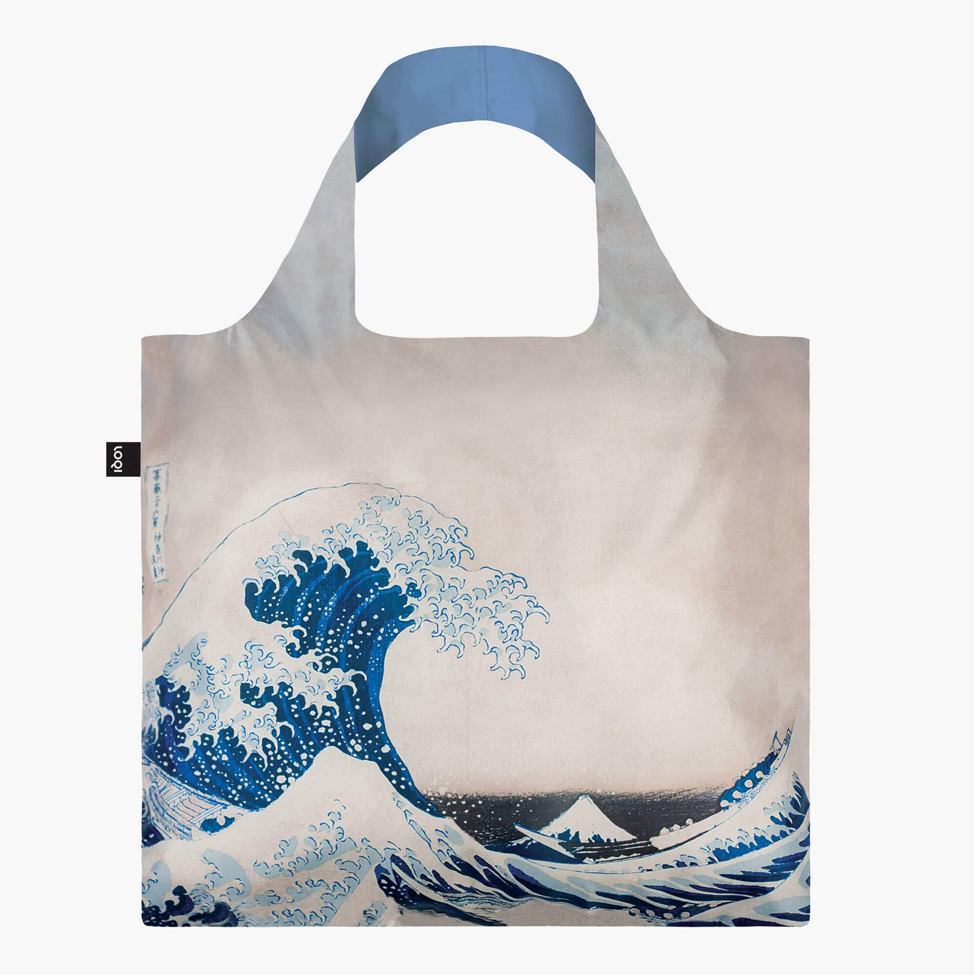 LOQI Hokusai The Great Wave Recycled Bag