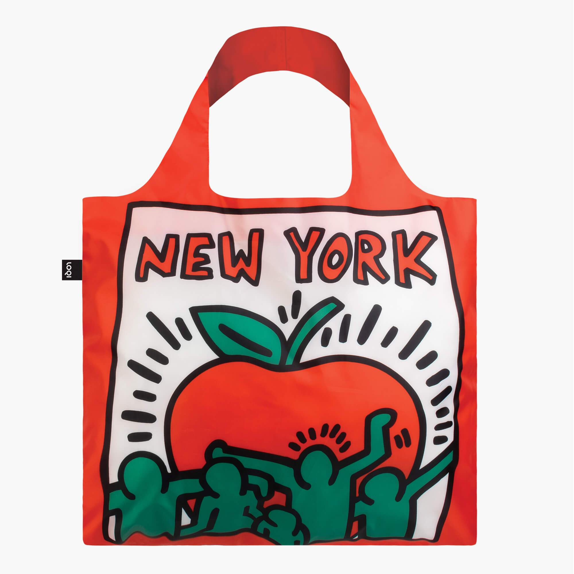 LOQI Keith Haring New York Bag front