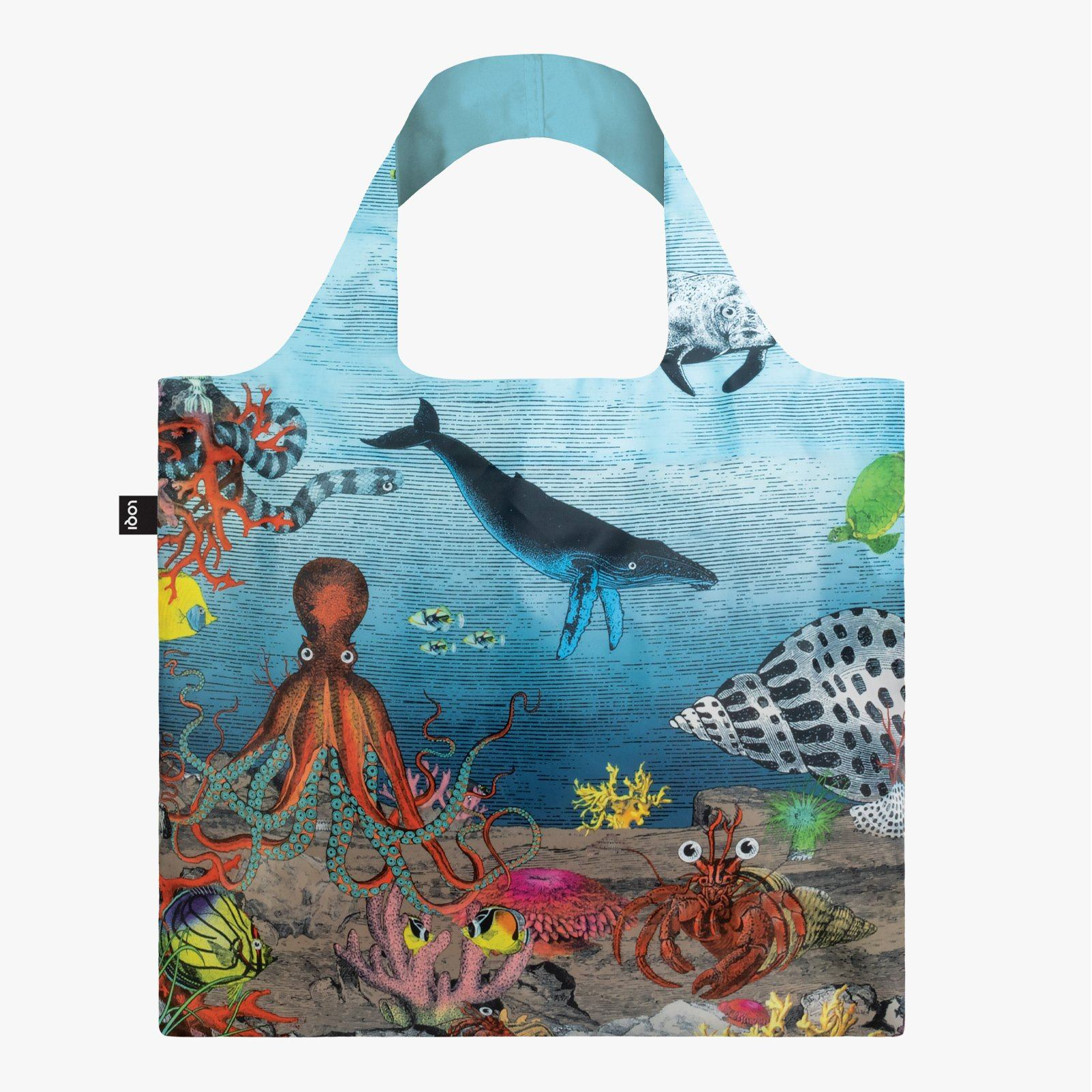 LOQI Kristjana S Williams Interiors Great Barrier Reef Bag