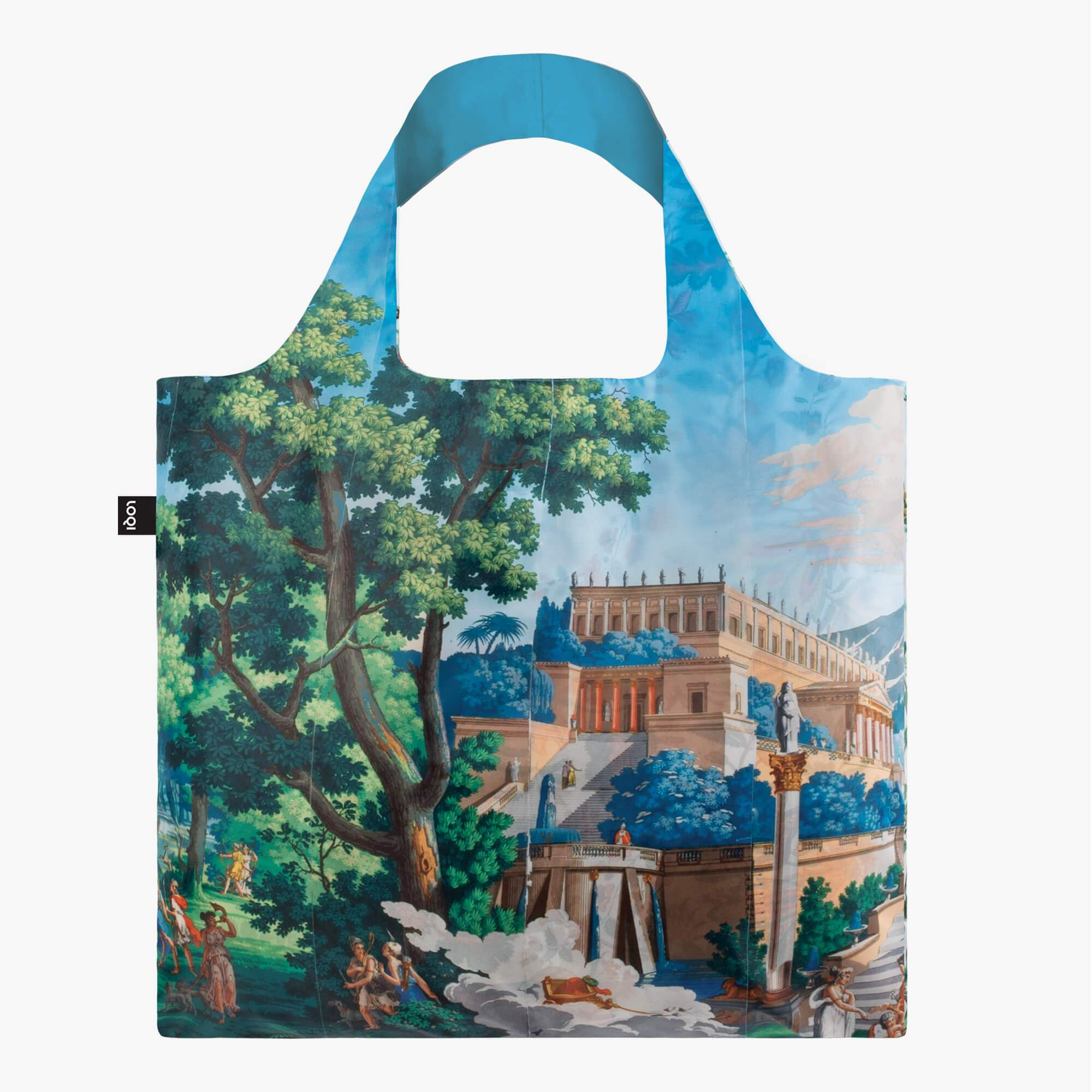 LOQI Museum of Decorative Arts, Paris Landscape of Telemaque in Calypso Island Bag front