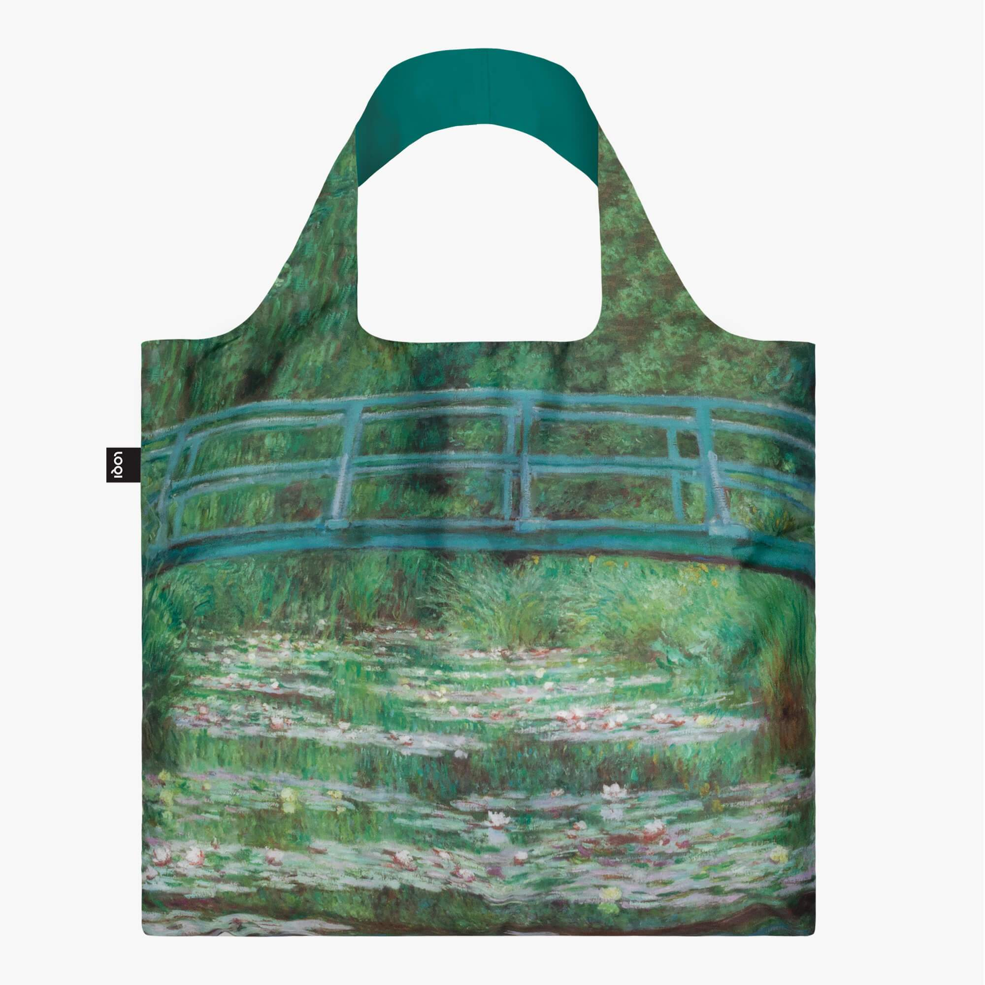 LOQI Claude Monet The Japanese Footbridge Bag