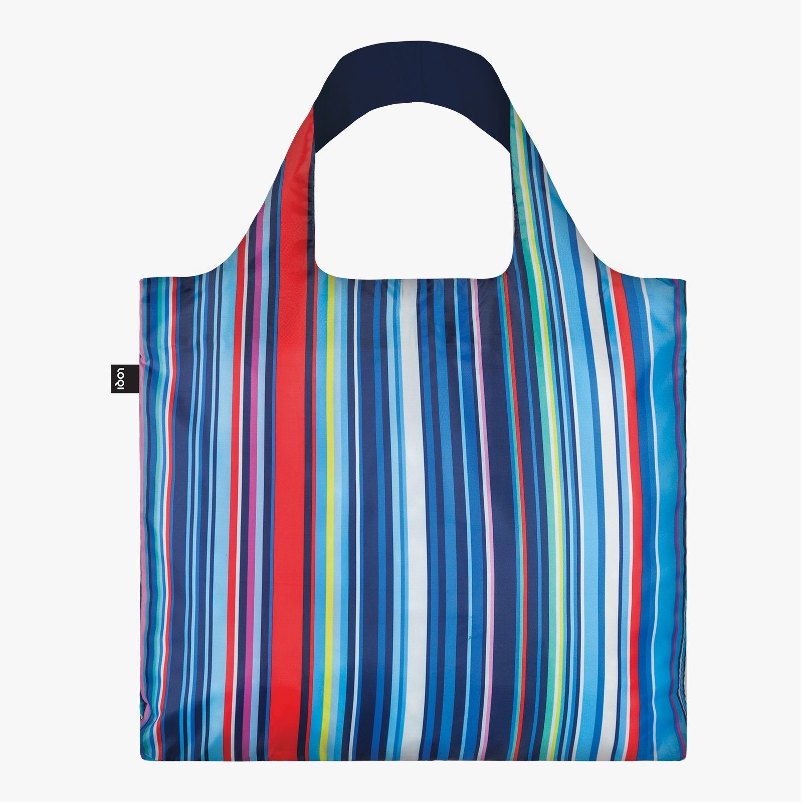 LOQI Nautical Stripes bag