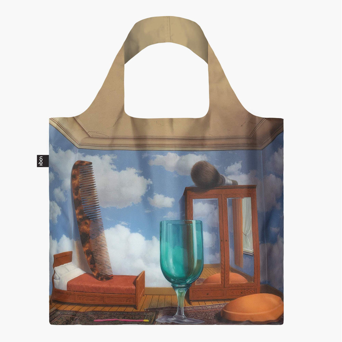 LOQI René Magritte Personal Values, 1952 Bag