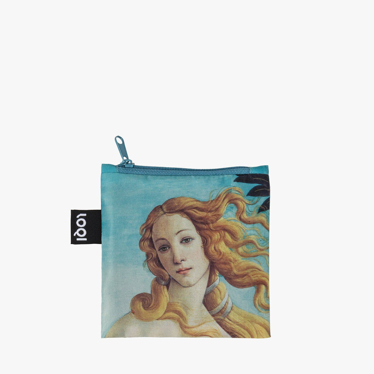 LOQI Sandro Botticelli The Birth of Venus, 1484-86 Bag zip pocket