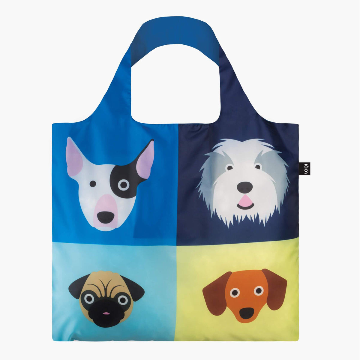 LOQI Stephen Cheetham Dogs Bag back