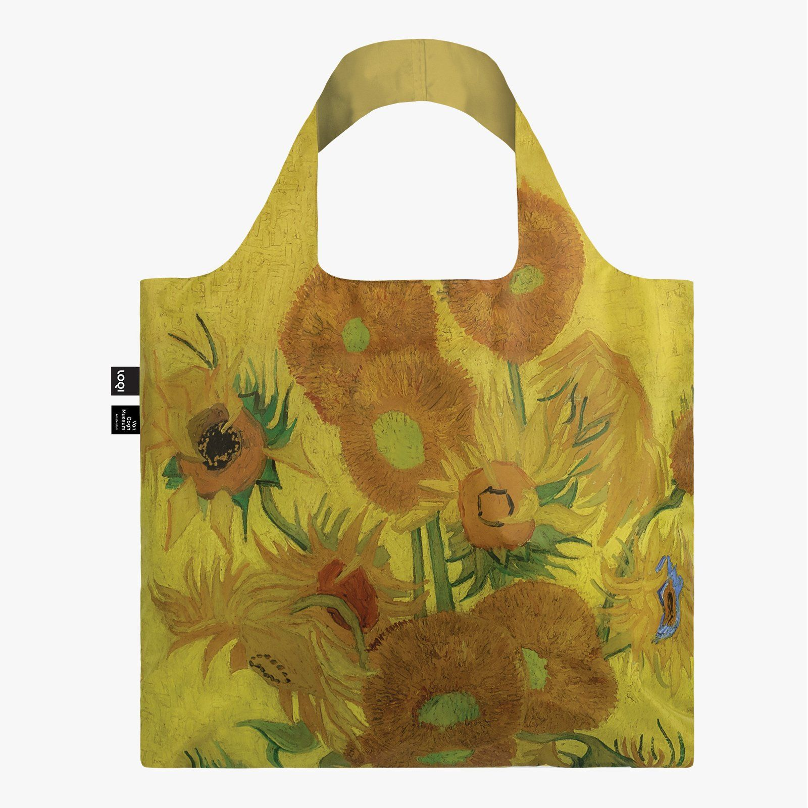 LOQI Vincent van Gogh Sunflowers Bag front