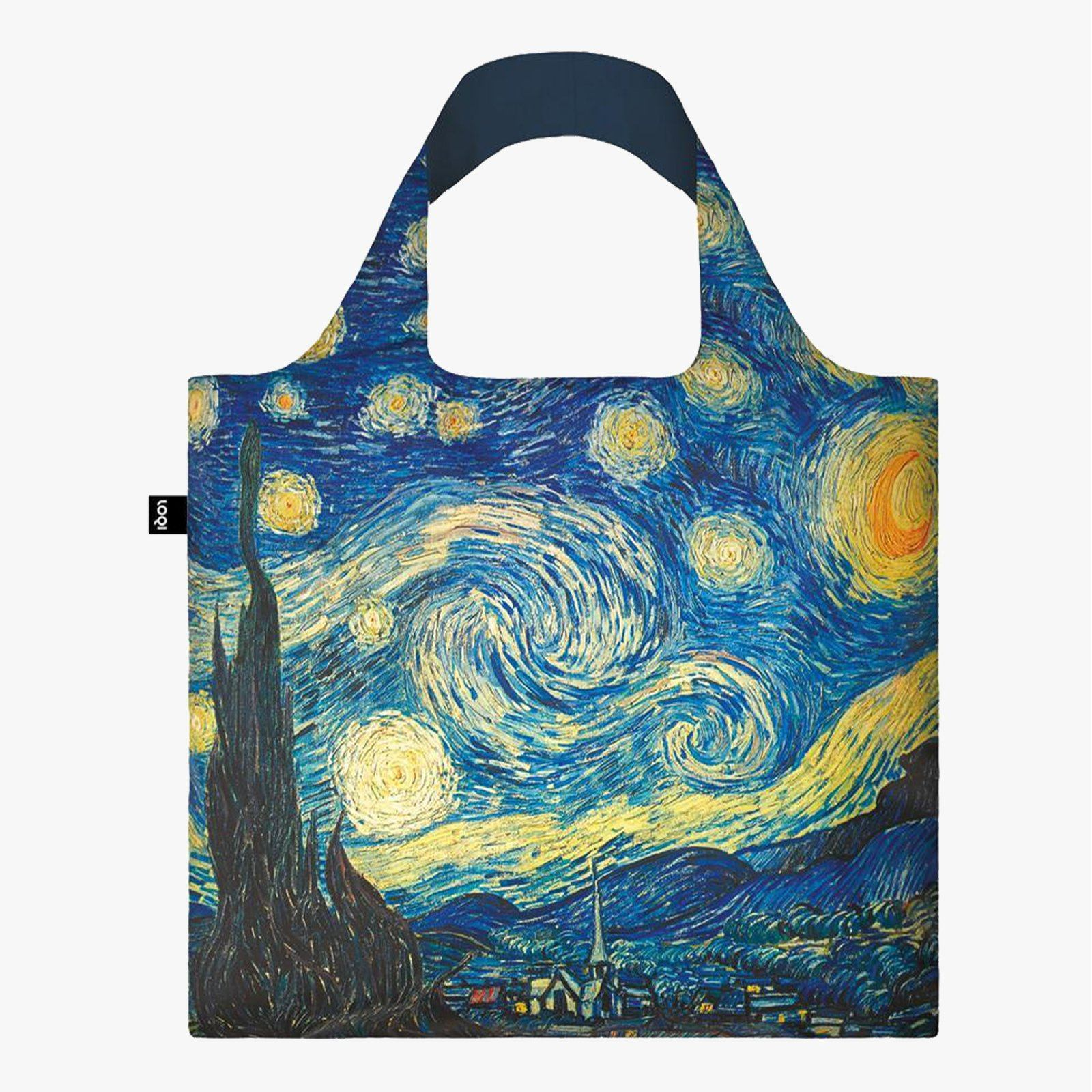 LOQI Vincent van Gogh The Starry Night, 1889 Bag