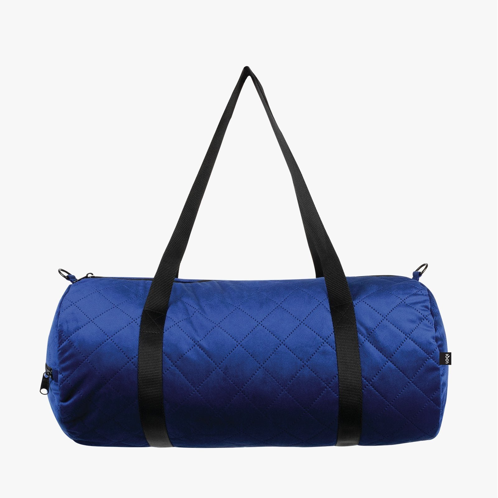 LOQI Quilted Betty Blue Weekender Outside