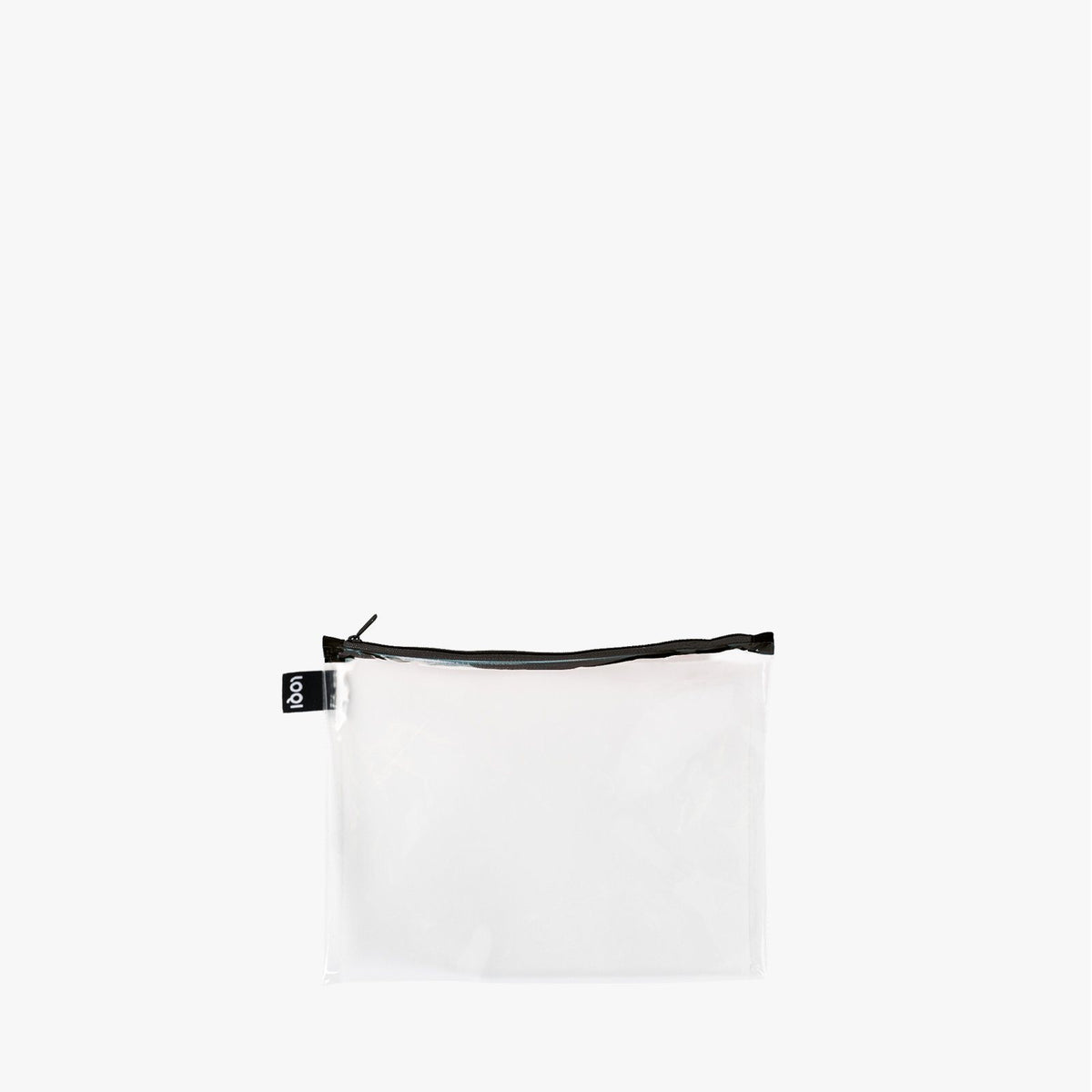 LOQI Transparent Zip Pockets midi
