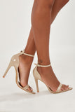 Olga Nude Point Toe Sandals