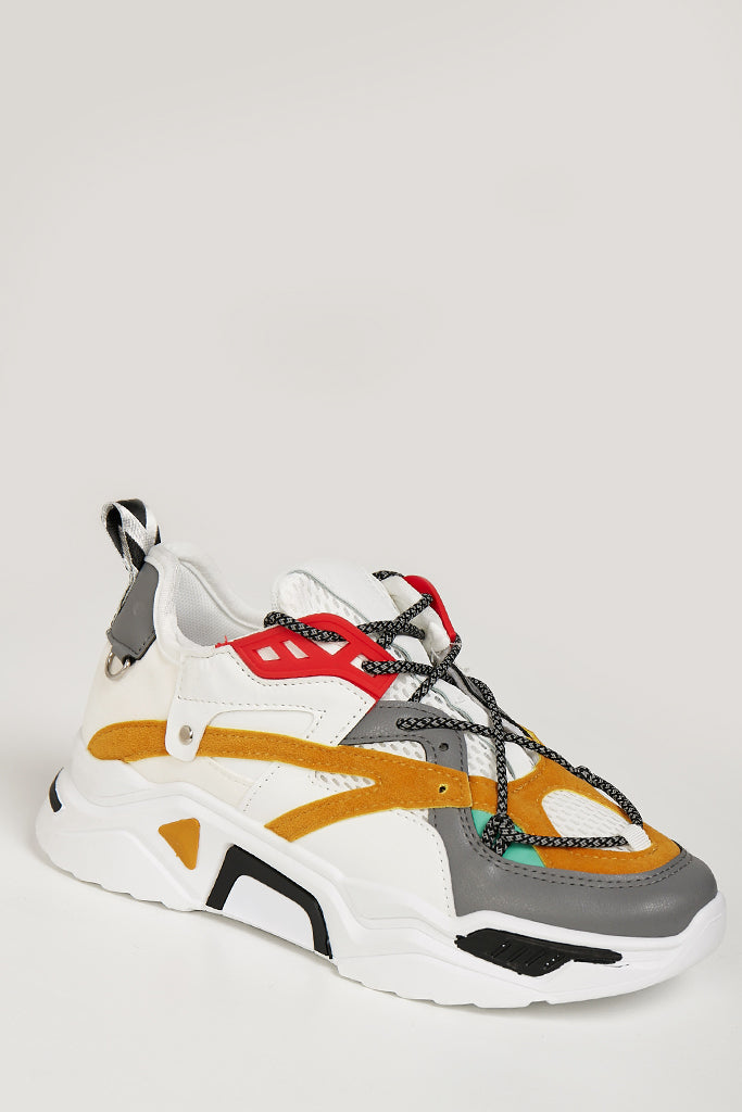 Alexandra Multi Colour Chunky Trainers