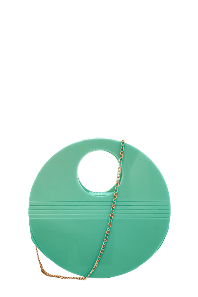 Darcie Mint Round Bag
