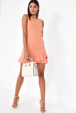 Catrice Apricot Shift Dress
