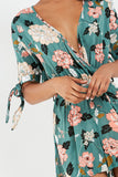 Dakota Green Floral Playsuit
