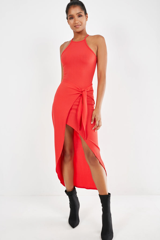 darci-red-ribbed-wrap-front-dress (1990345687106)