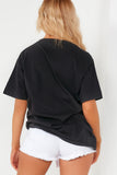 Darya Black Yale Oversized T-Shirt