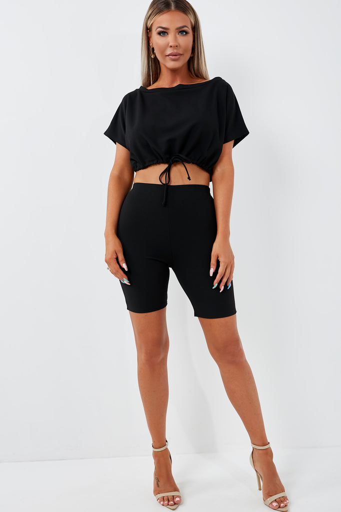 Dexter Black Shorts Co Ord (1953091092546)
