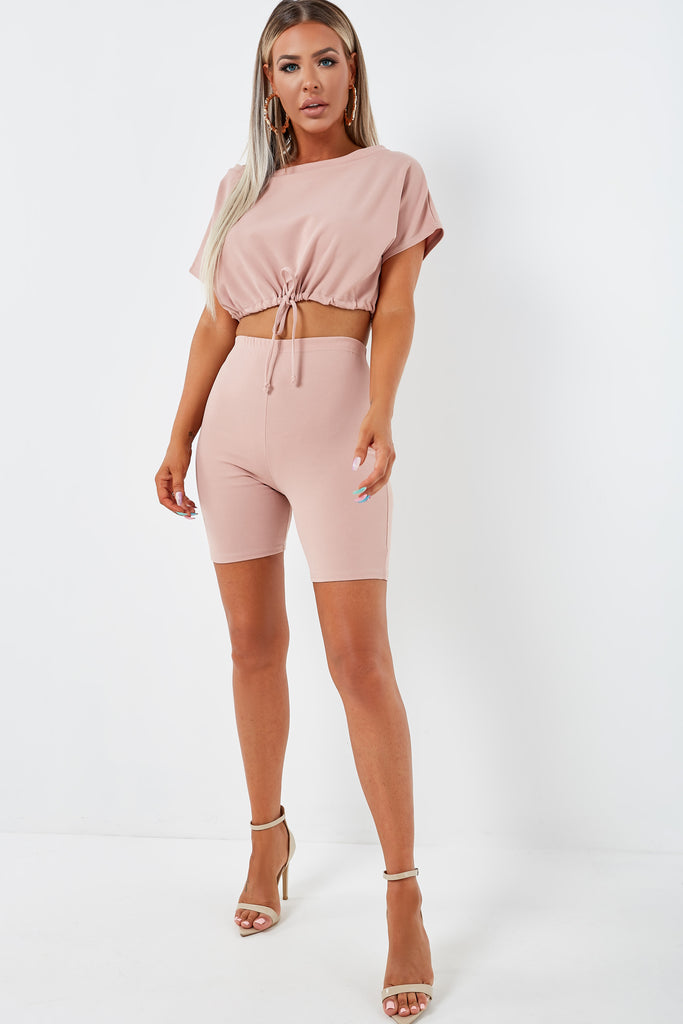 Dexter Pink Shorts Co Ord (1953088143426)