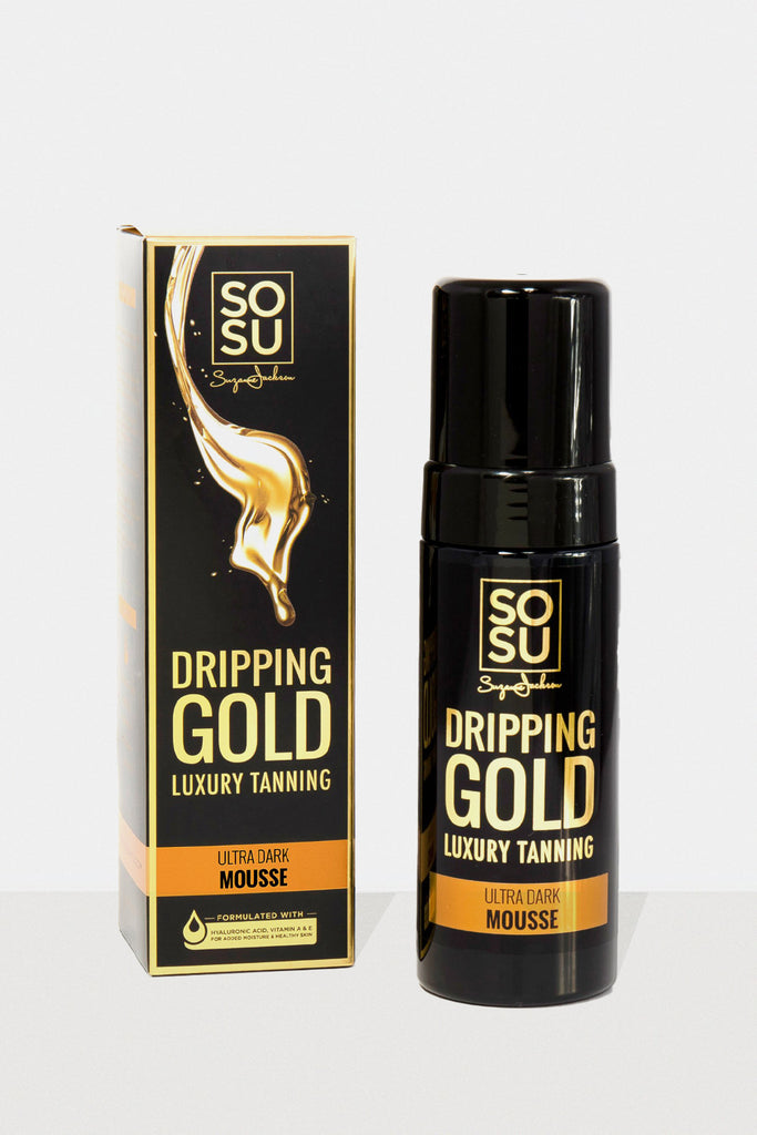 SOSU Dripping Gold Ultra Dark Luxury Tanning Mouse