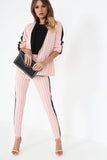 Emmy Pink Pinstripe Trouser Co-Ord