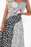 Esme Monochrome Spot Floral Cami Dress
