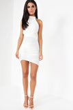 Esmeralda White Strappy Back Dress